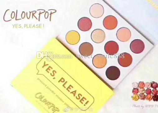 Brand colorful Eyeshdow Palette Eye makeup cosmetics eyeshadow high quality free shipping