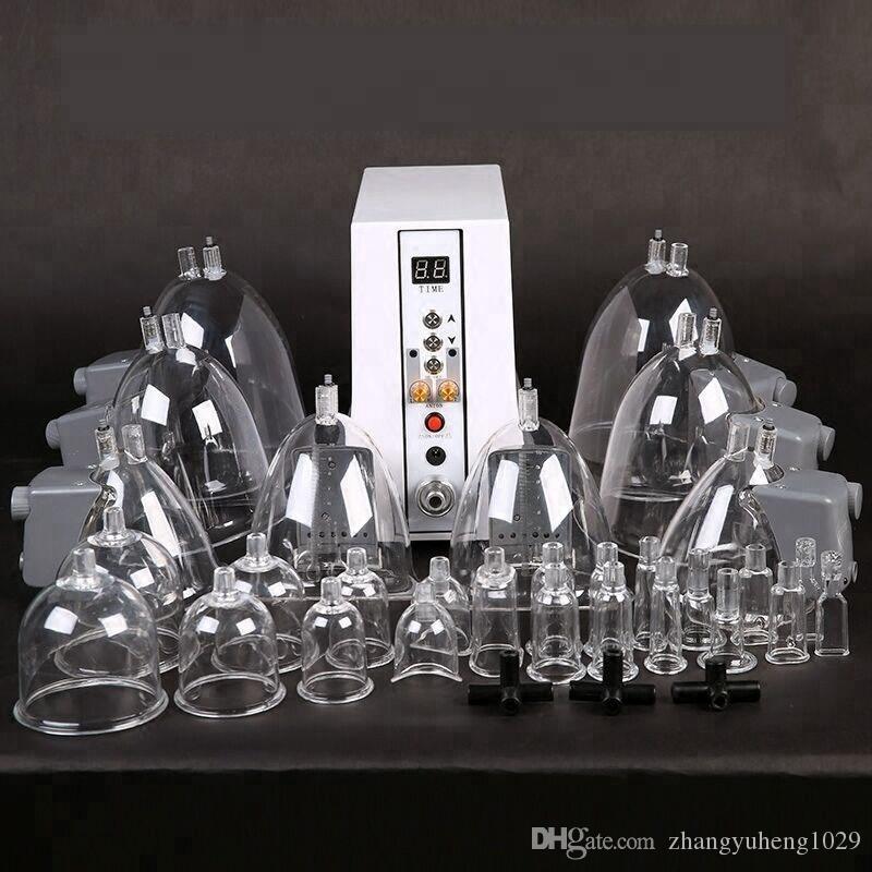 Hot sale buttocks enlargement cup vacuum breast enlargement therapy cupping machine butt enlargement machine