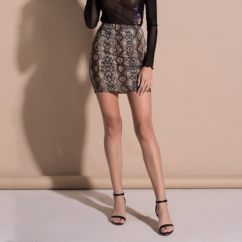 Minigonna donna Gonne primavera estate delle donne pannelli esterni sexy a vita alta con stampa leopardata gonna mini Harajuku Boho Faldas Mujer Faldas