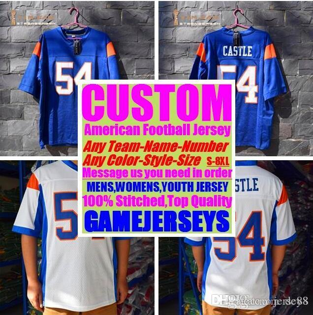 hot sales 91ba8 3f945 2019 Custom American Football Jerseys Jacksonville Sox College Authentic  Retro Rugby Soccer Baseball Basketball Hockey Jersey 4xl 5xl 6xl Shop From  ...