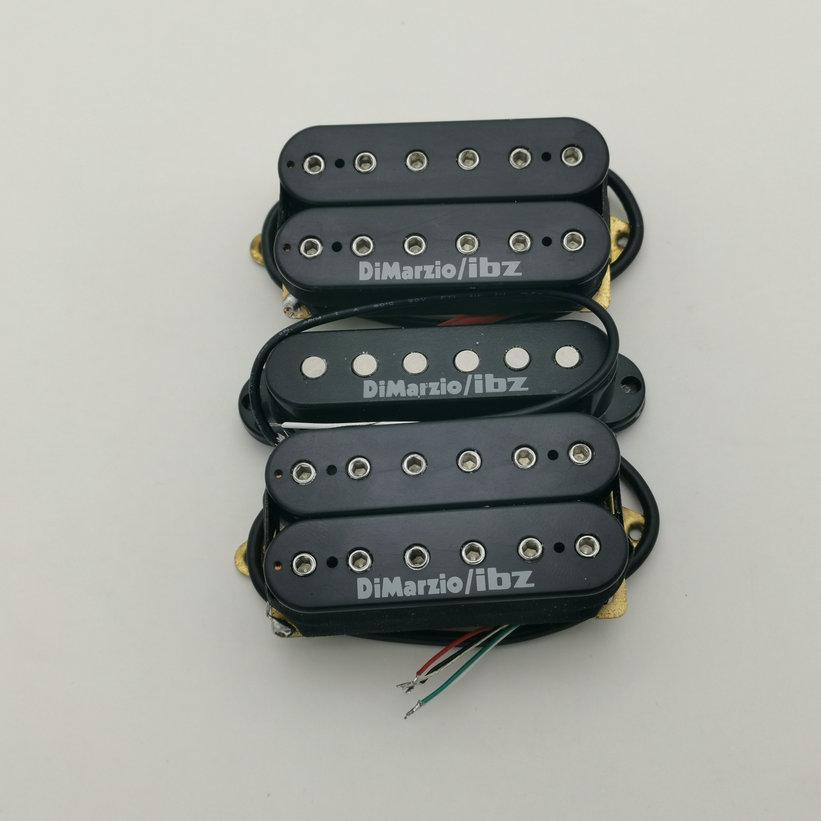 Dimarzio ibz humbucker pickup alnico التقاطات hsh الغيتار الكهربائي بيك اب n / m / b 1 مجموعة