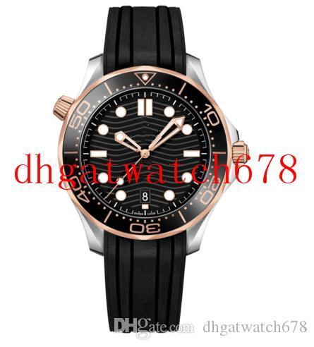 Luxusuhr Herren 300M 42mm 210.22.42.20.01.002 Gummiarmband Automatik Mode Herrenuhren Armbanduhr