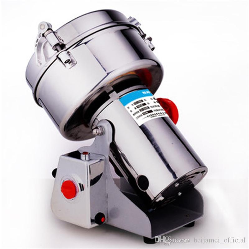 BEIJAMEI 1000g Swing Grinder Spice Grinder Machine 110V / 220V Small Electric Powder Mill Grinder de alta velocidad
