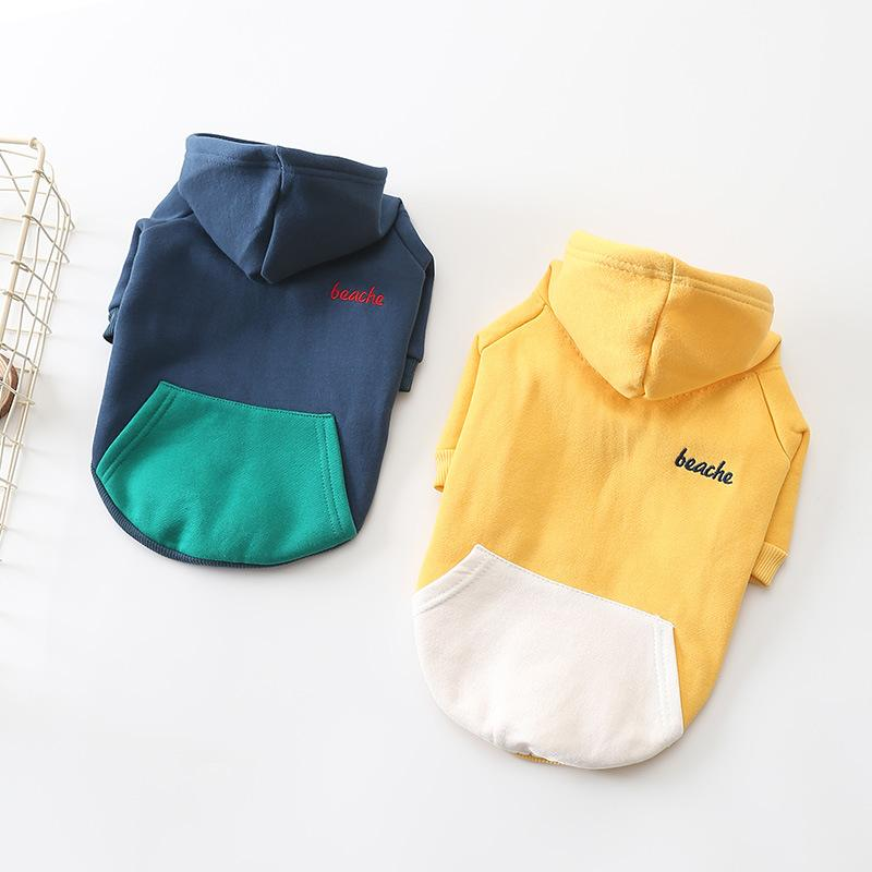 작은 개 애완 동물 개 까마귀 의상에 대한 포메라니안 치와와 퍼그 푸들 운동복를 들어 프랑스 불독 후드 개 겨울 셔츠