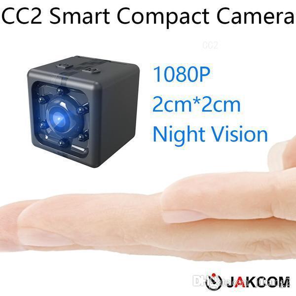 JAKCOM CC2 compacto de la cámara de la venta caliente en la acción Cámaras de vídeo de deportes como reloj pulsera pequeña cámara digital Pau de auto