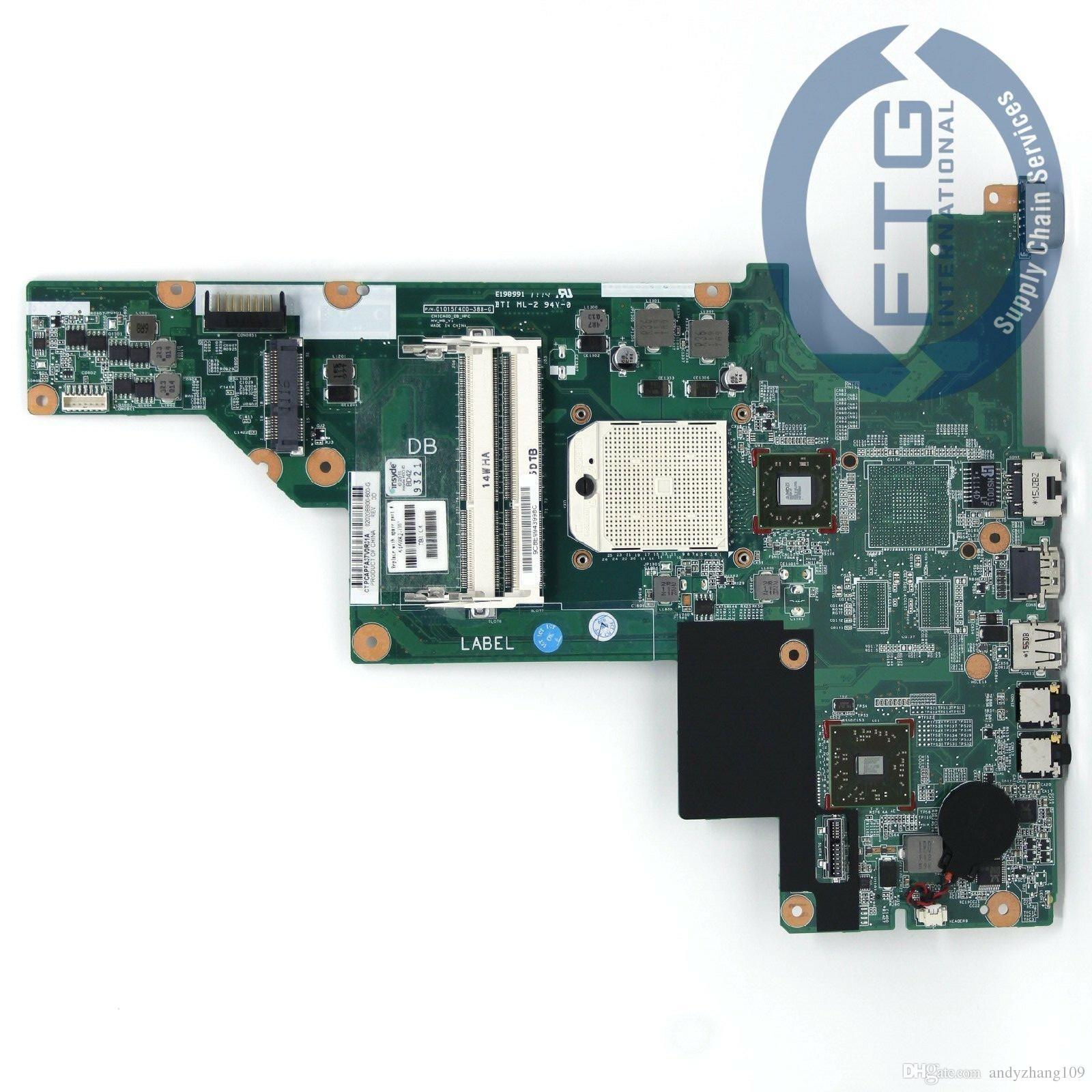 646982-001 kurulu HP compaq 435 436 635 anakart ile AMD RS880M yongaseti ile