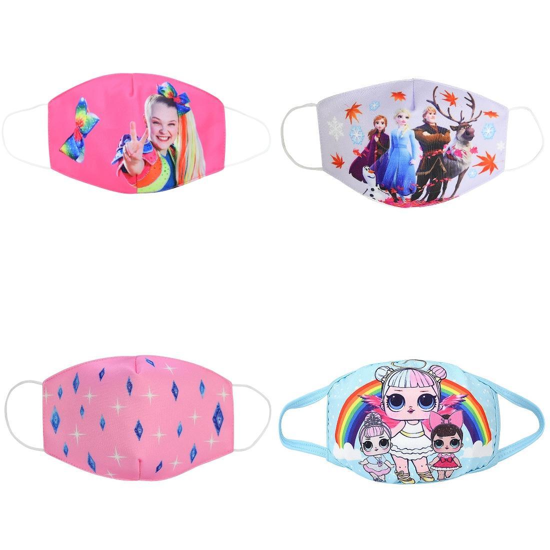 Facee Детская маска для лица маски Cubrebocas Tapabocas ткань Face Симпатичные маски пыли Дети Детские Cartoon Теплый Pur хлопок двойной Dust маска sweet7