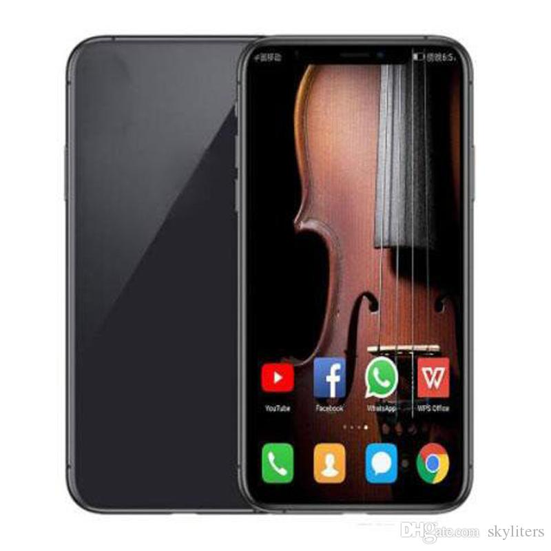 Hot Selling 6.8 Inch Full Screen Display Goophone Note10+ Plus Smart Phone 1G RAM 16GB ROM Back 12.0MP Front 5.0MP Camera Cell Phones