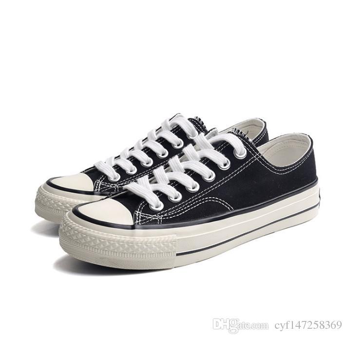 أعلى الكلاسيكية conve1s2e حار بيع للجنسين الرجال النساء اللباس أحذية قماش منخفض أعلى الأحذية المزينة يصل الاحذية حذاء رياضة
