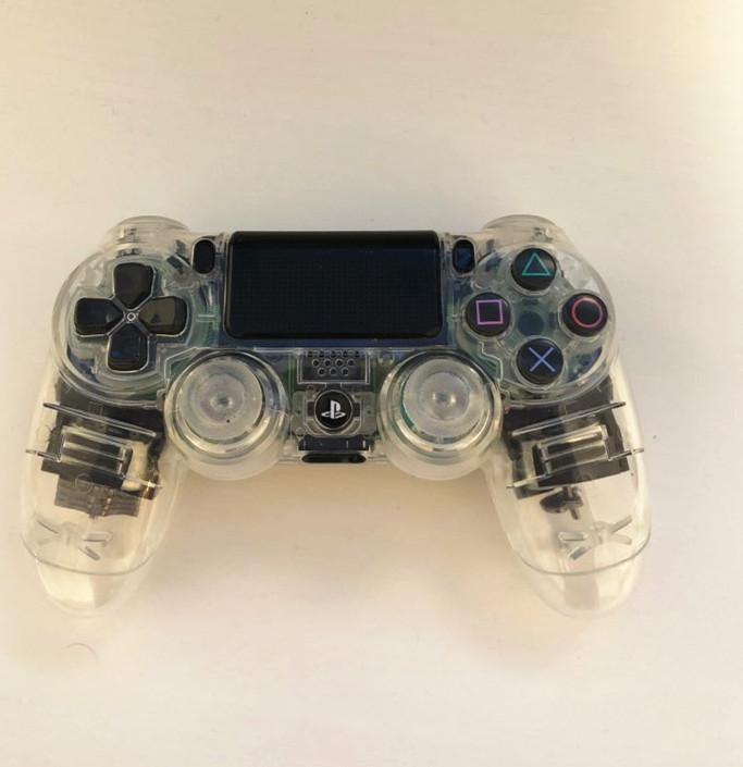 PS4 V1 контроллер Пользовательский Clear Прозрачный корпус Shell обложка чехол Ремонт Mod Kit для Sony Playstation 4 PS 4 Limited Edition