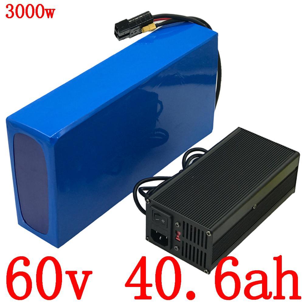 Свободный таможенный налог батарея 60V 2000W 3000W Lithium 40Ah электрический самокат использование велосипеда LG сотовый