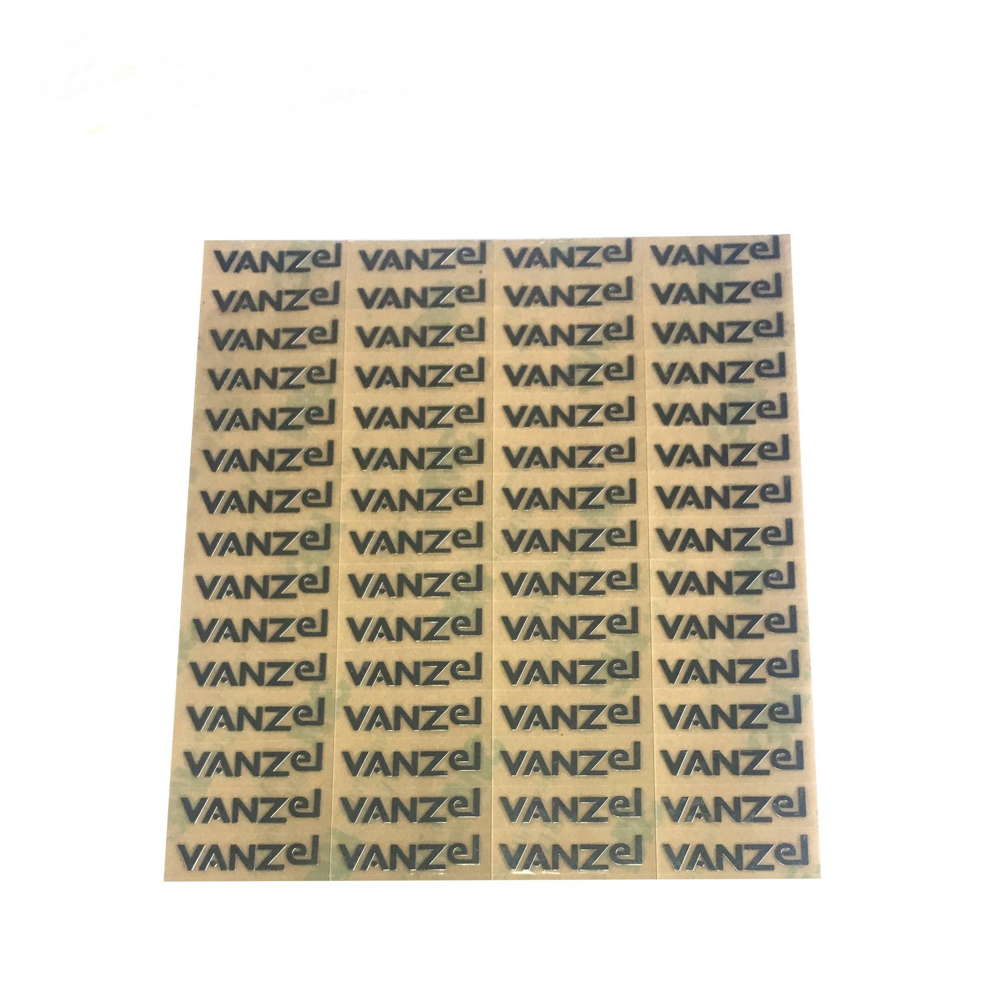 Профессиональные часы наклейки для вахты индивидуальные логотипа металлические электроформованные фольги 3M самоклеящийся наклейка этикетки