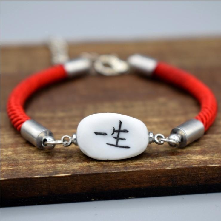 moda al por mayor pulseras de perlas de cerámica encanto de la pulsera 18 estilos para el modelo de la joyería de moda opciones no. NE931-2