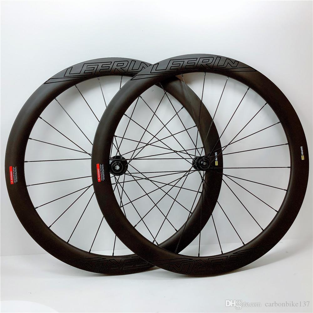 High quality carbon wheels disc brake 6 bolts/Center lock OEM logo 700C clincher 25mm road bike carbon wheelset spot Fast Shipping