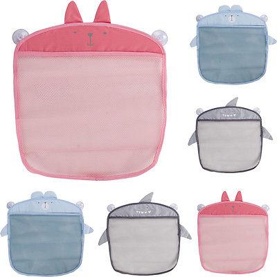 1pc Wall Hanging Kitchen Bathroom Storage Bags Knitted Net Mesh Bag Baby Bath Toys Make Up Organizer Container