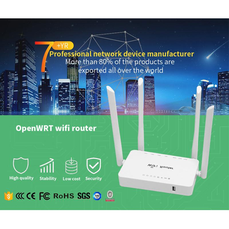 2019 Hot Sale Wireless Wifi Router Suppoty Usb Modem Home Router 300Mbps  1WAN And 4Lan Openwrt System Support Keenetic Omni II From Paping, &Price