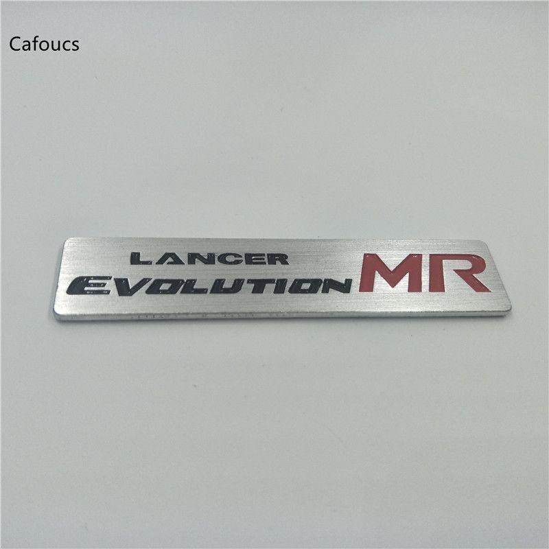 Алюминий Металл автомобилей-стайлинг Mitsubishi Lancer Evolution X MR эмблема значок Логотип Decal Sticker