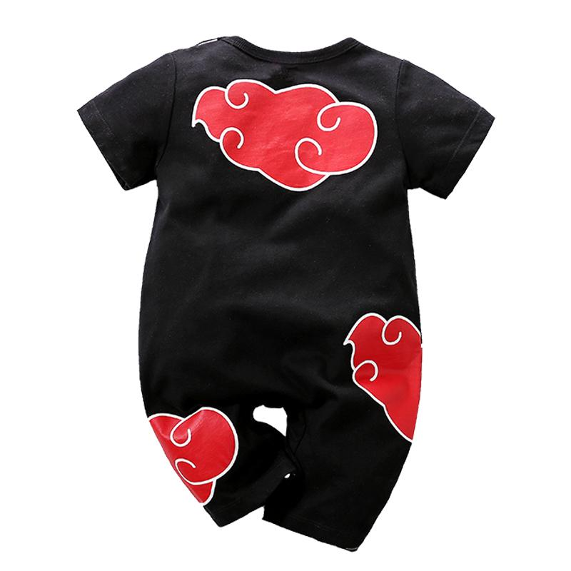 2020 Anime Clothes Summer Newborn Baby Boys Rompers Cotton ...