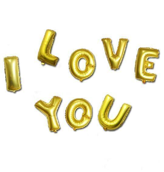 """16"""" miúdos aniversário do Natal Ouro Prata Alphabet Letters A-Z Foil balões de hélio Mylar casamento do balão de mostrar Party Decoration C154Q"""