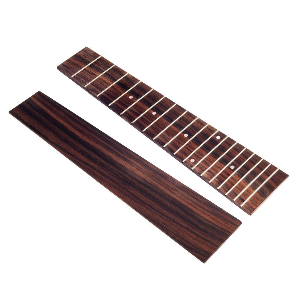NAOMI Guilele Griffbrett Baum Gitarre Ukulele Teile Hohe Qualität DIY Ersatz Palisander
