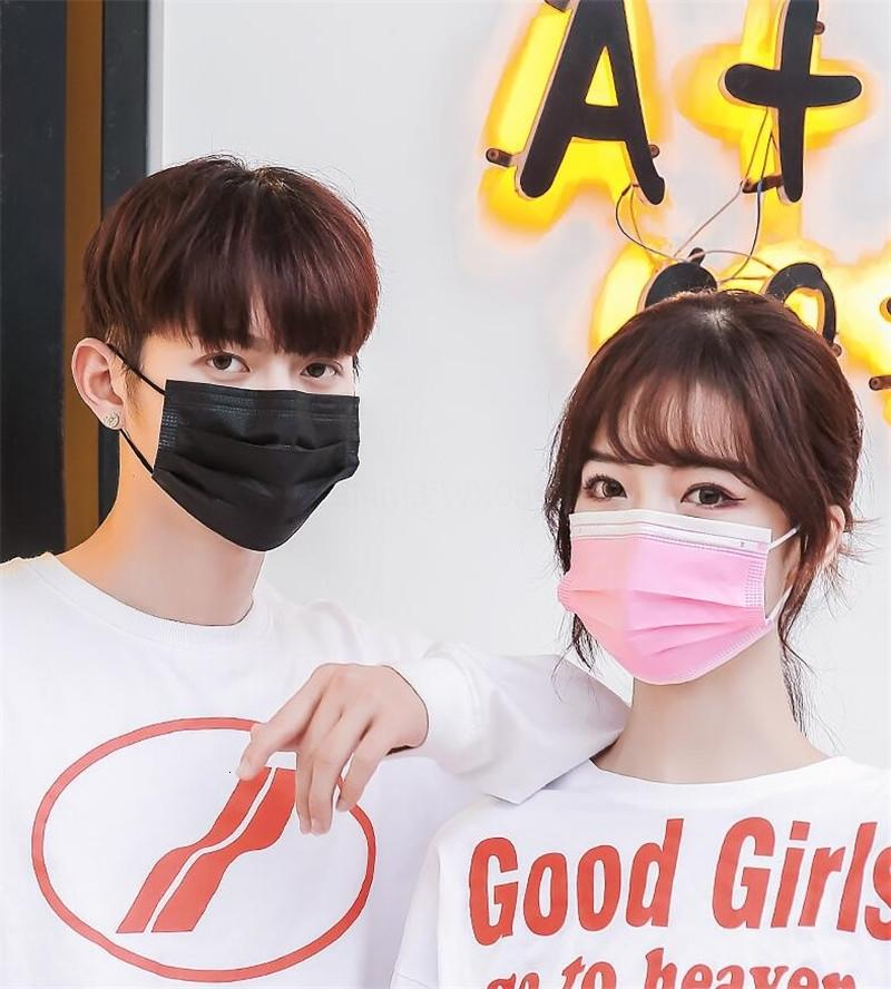 1Pcs Disposable Face Masks 3 Layer Dustproof Face Mouth Masks Anti Pm2.5 Safety Face Care Elastic Men And Women Masks7264991 7339044 4