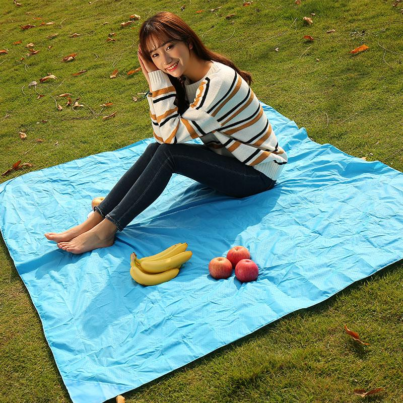 Camping Folding Picnic Mat Portable Pocket Compact Garden Moistureproof pad Blanket Waterproof Ultralight Yoga Outdoor