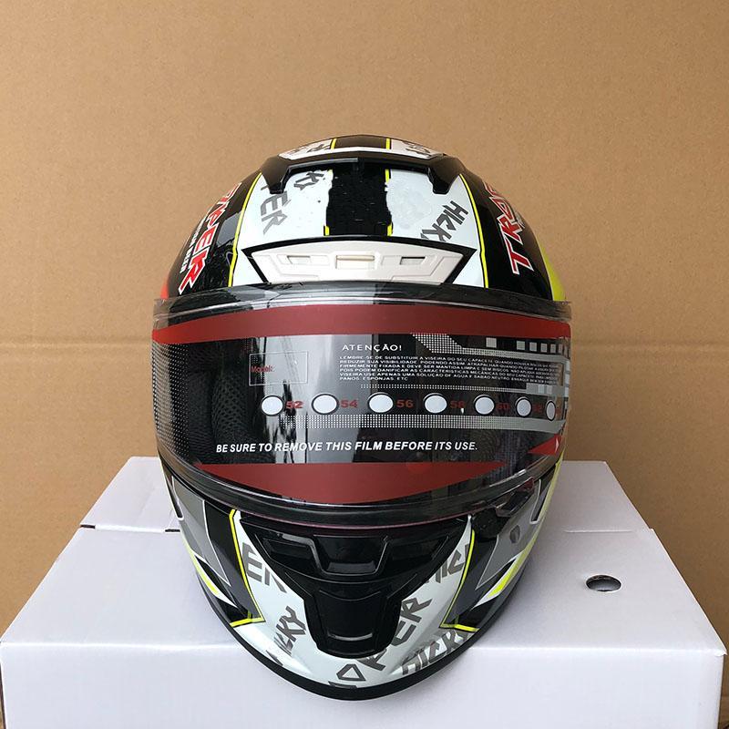 envío libre de la cara llena Cascos Casco Casque nuevo modelo de casco de la motocicleta de la moto de motocross Modular Casco protector