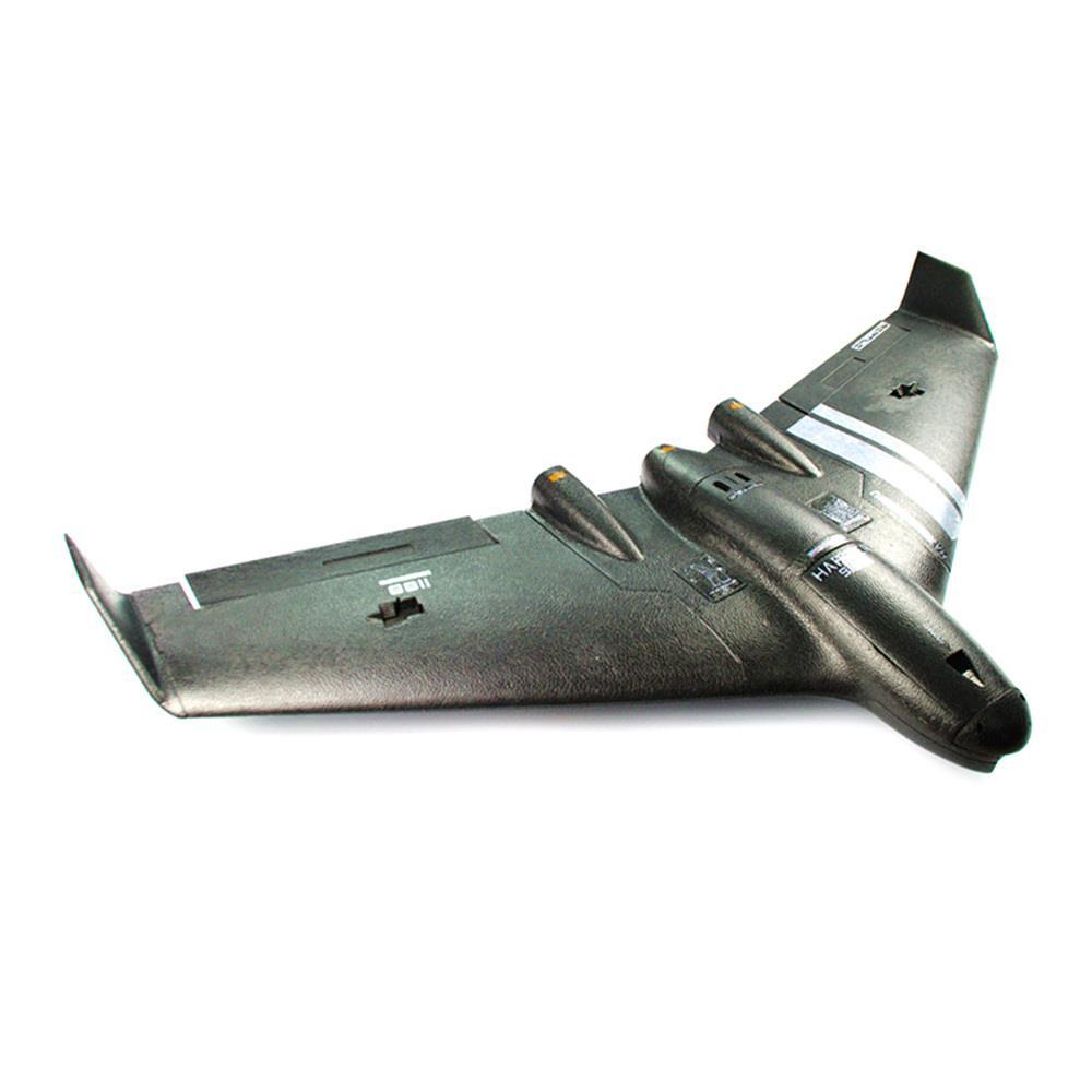 Réptil Harrier S1100 FPV Flying Wing EPP 1.100 milímetros Envergadura com giroscópio RC Avião PNP - Black