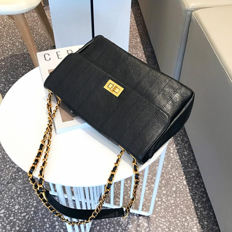 حقائب جودة عالية الأسود CROSSBODY للمرأة مبطن حقيبة المرأة عنابي رسول حقائب السيدات محفظة الكتف