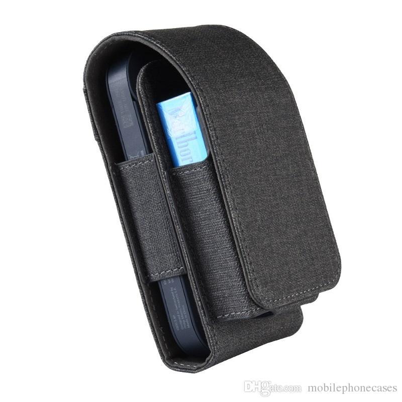 Entwerfer-Beutel für E-Zigarette iqos 2.4 Luxuxlederfall für iqos 2.4 elektronische Zigarette DHL geben Verschiffen frei