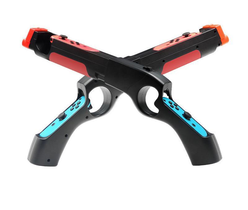 Переключатель Somatosensory Game Gun NS стрелялки Light Gun Shooting Game Somatosensory NS игры Пистолет для Nintendo Game Machine аксессуары