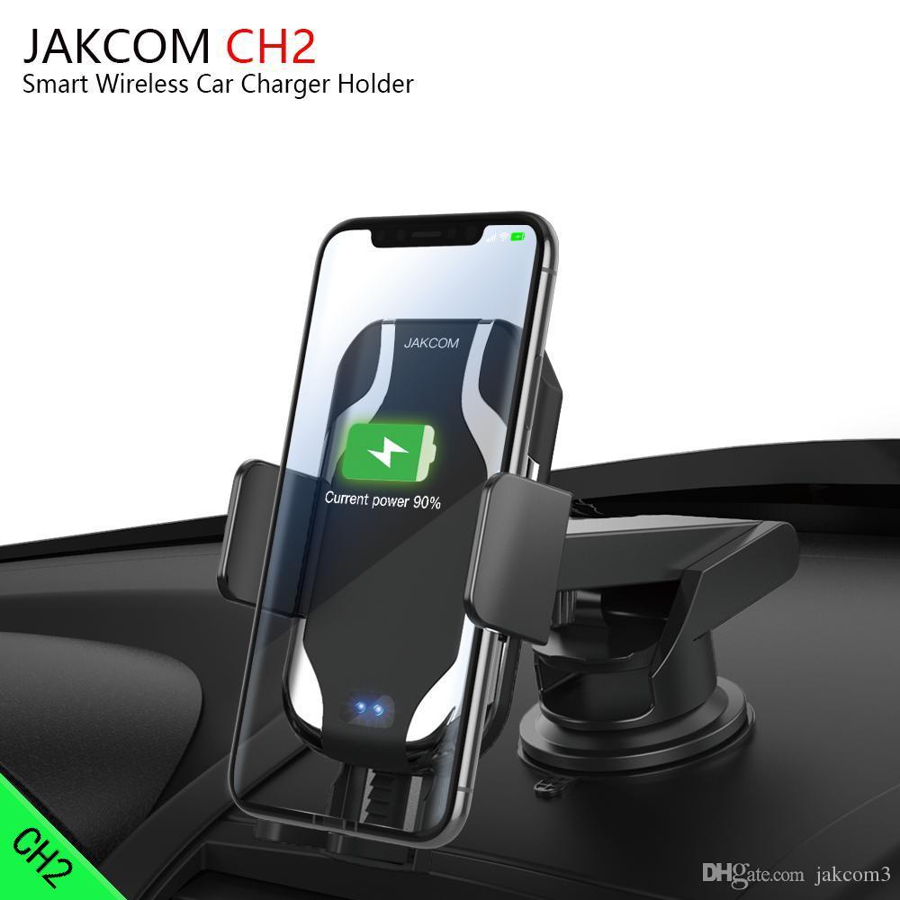 Carro sem fio JAKCOM CH2 carregador inteligente montar titular Hot Venda em telefone celular Montagens titulares como smartphone Android mi mix bf barat