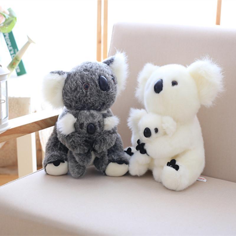 Kawaii Koala Plush Baby Toys Australian Koala Bear Stuffed Soft Doll Kids Lovely Gift for Friends Girls Baby Parent-child Toys