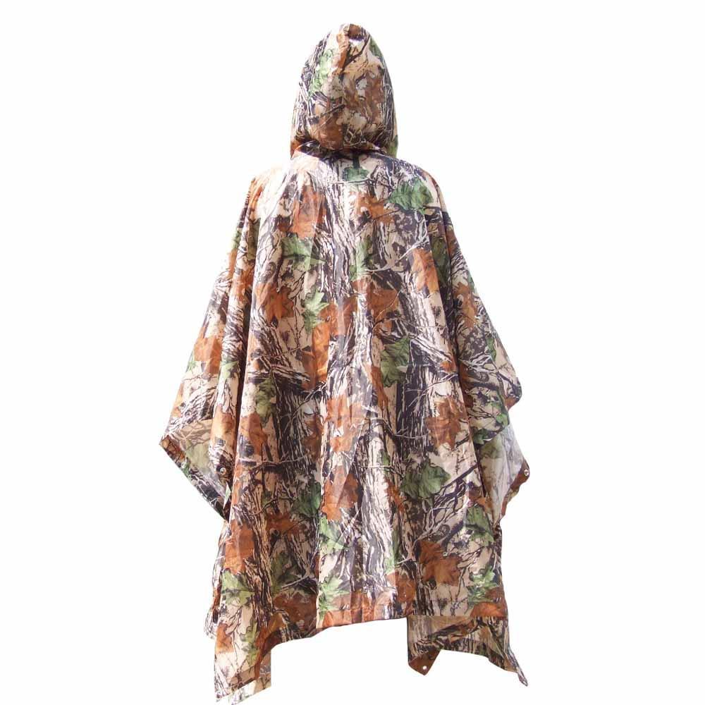 Hot multifunzionale impermeabile impermeabile con cappuccio escursionismo escursioni in bicicletta della copertura della pioggia indumenti impermeabili militare cappotto di pioggia all'aperto tenda da campeggio Ma