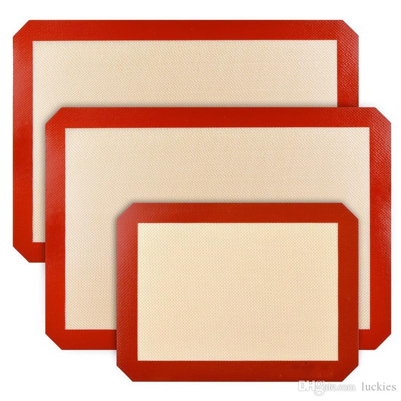 Silicone Baking Mat Non Stick Silicone Mats for Bake Pans Professional Grade Nonstick Sheet for Making Cookies