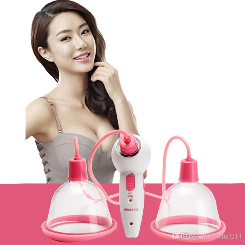전동 흉상 강화제 유방 확대 가슴 마사지 기계 물리 치료 진공 펌프 컵 유방 마사지 도구 A1-3-36