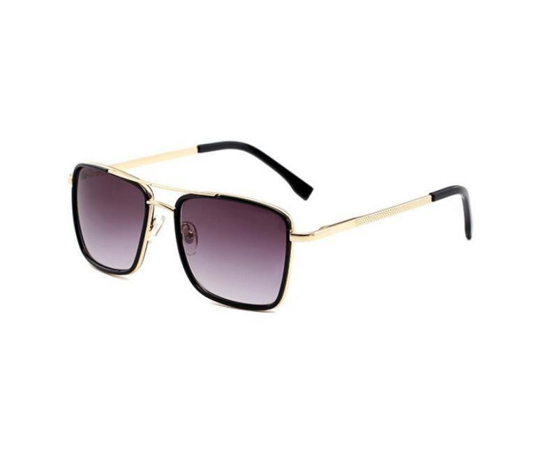 2019 Luxus-Brillen Designer-Sonnenbrillen für Herren-Glasspiegel-Grün Lense Vintage-Sonnenbrillen Brillen Zubehör Frauen Sonnenbrillen
