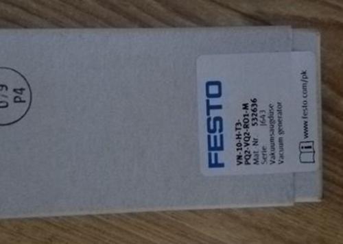 1PC NEW FESTO VN-10-H-T3-PQ2-VQ2-RO1-M 532636 Générateur de vide