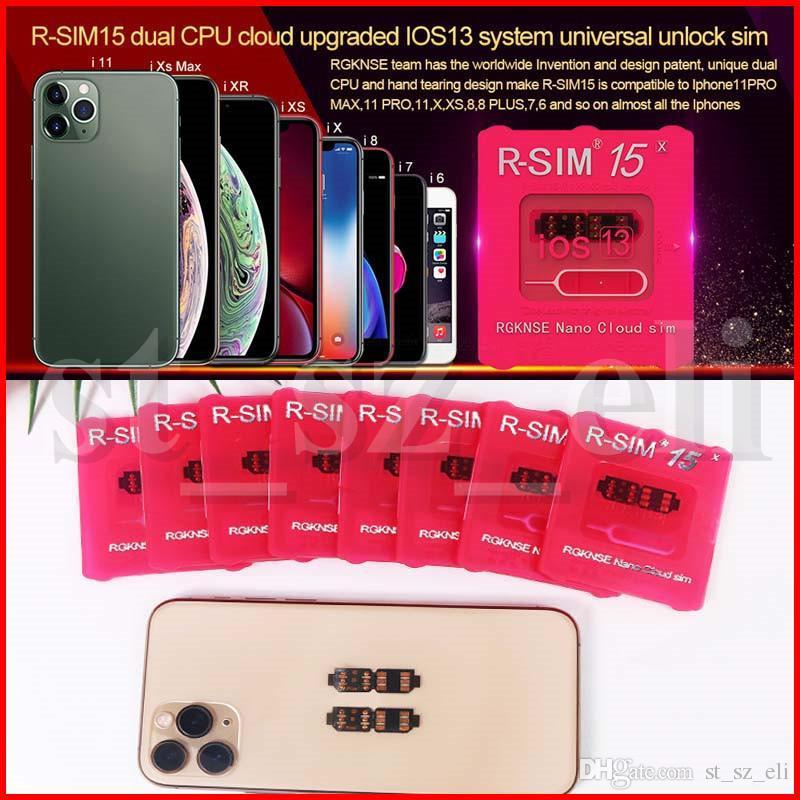 RSIM15 rsim15 R sim 15 rsim15 carta di sbloccare IOS 13 sblocco sim card dual CPU Aegis nuvola aggiornamento della carta di sblocco universale