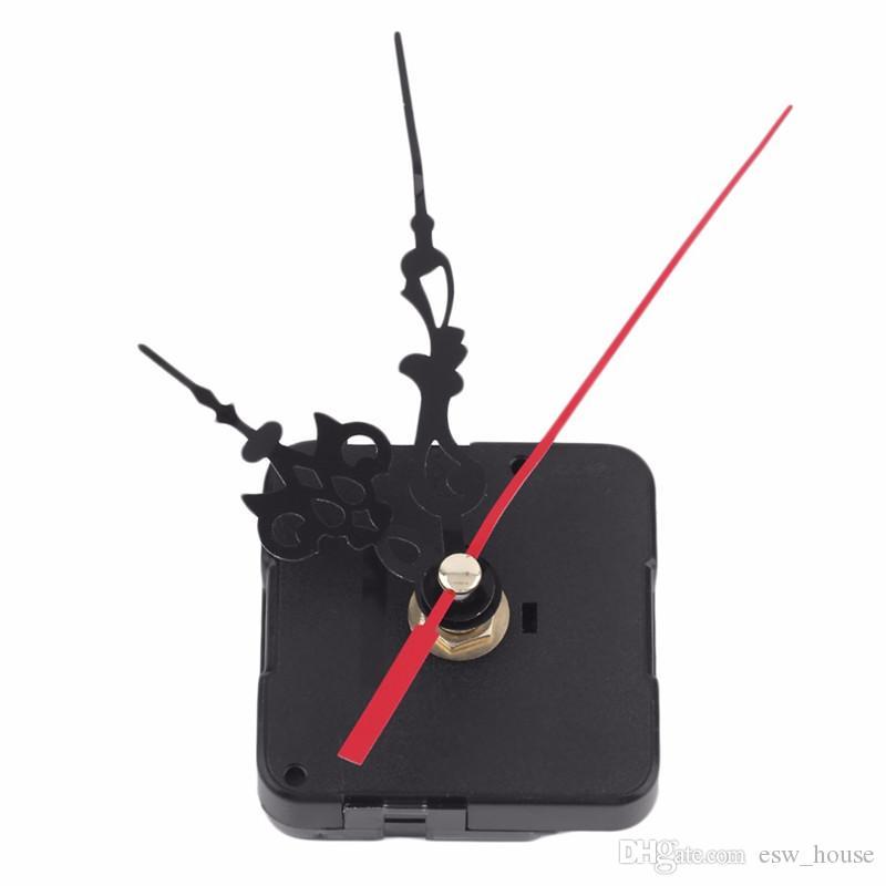 DIY horloge à quartz Mécanisme Kits de réparation Mouvement Quartz Horloge Kit de réparation de bricolage Outil de travail à la main Mécanisme broche