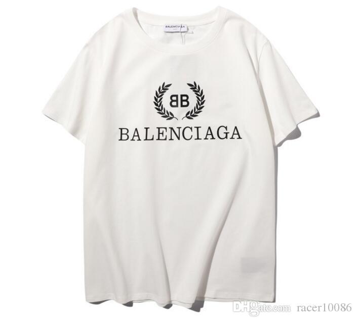 La manera imprimió camisetas estilo de la camisa t stree manga corta de algodón mujeres de los hombres Tee Shirts Hip-Hop