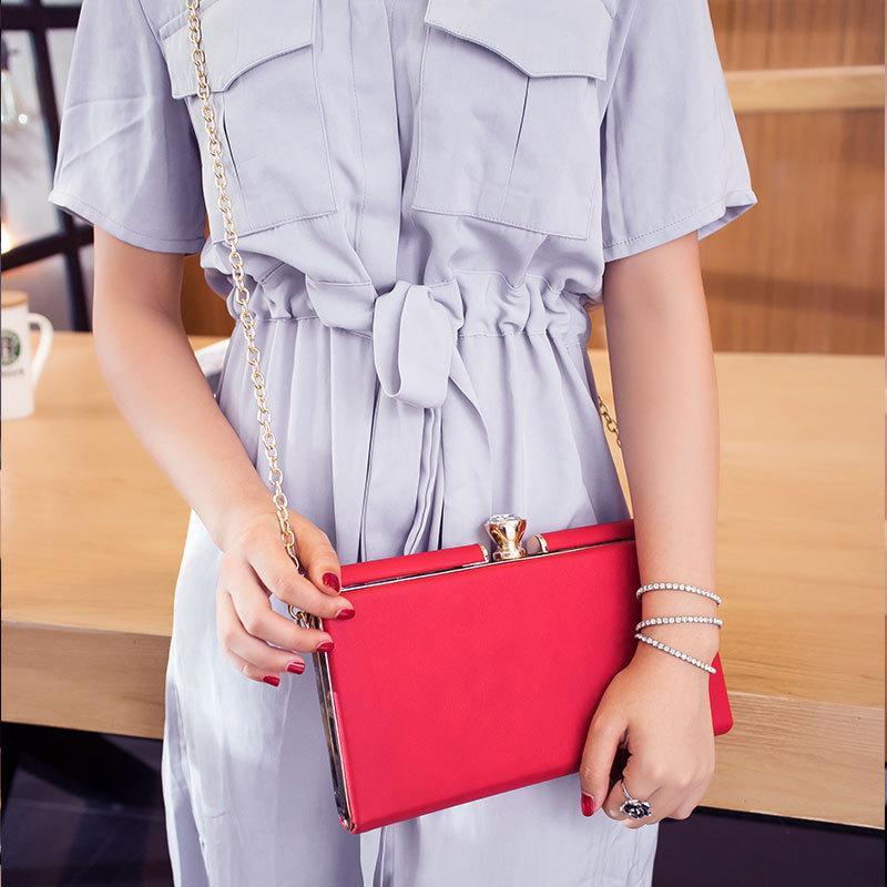 multifuncional mensageiro saco elegante simples elegante e simples de 2020 novas senhoras de ombro único saco de jantar mulheres do coreano