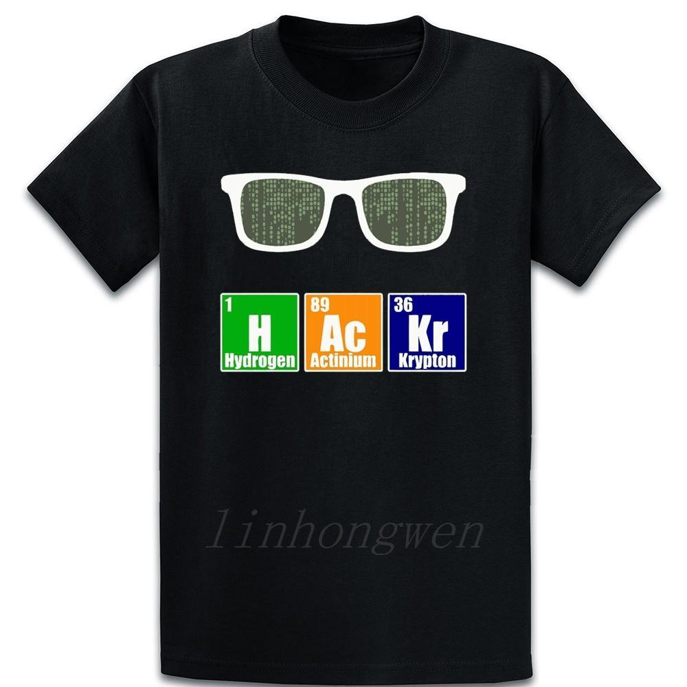 Lehrer für Wissenschaft Lustige Hacker Geek Wissenschaft Teac T-Shirt Baumwollkostüm Printing Standard-Euro-Größe Über Größe S-5XL atmungsaktiv