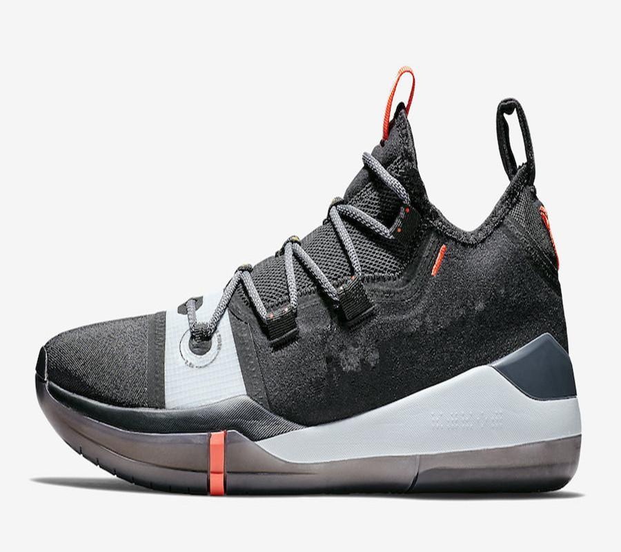 عالية الجودة مامبا عقلية AD الأسود متعدد الألوان الأسود تو أحذية كرة السلة للبيع مع أحذية صندوق أفضل بلوك مامبا AD الرياضة US7-US12