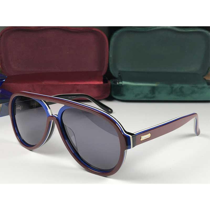 Mans Kadının Yeni moda tasarımcısı 0270S pilotlar çerçeve popüler satış tarzı UV400 mercek en kaliteli klasik tarzda orijinal kutusunu gönder güneş gözlüğü