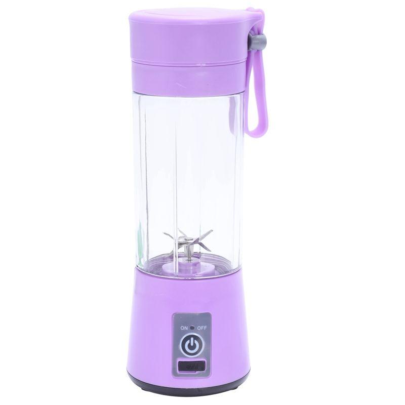 380ml USB aufladbare Blender Mixer 6 Blades Juicer Bottle Cup Saft Citrus Zitrone Gemüse Fruit Smoothie Squeezers Reibahlen