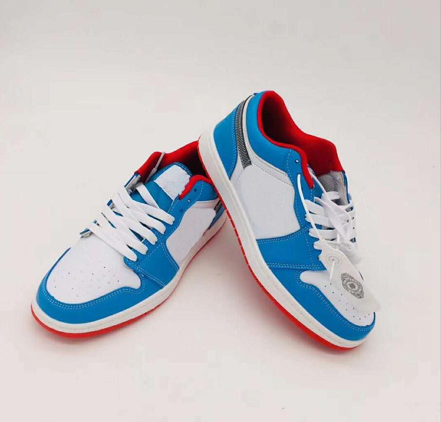 1s OG Men Women Sneakers Trainers Fashion Men Women Low Cut Leather Casual Sports Shoes Classic Skateboard Shoes 36-44