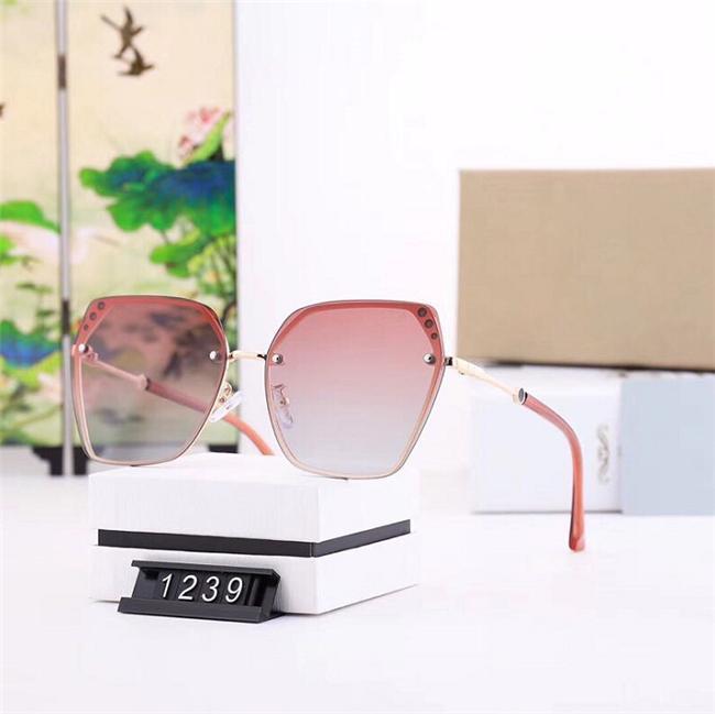 3 perle intarsiate occhiali da sole di fascia alta nuova atmosfera grande scatola polarizzate Polaroid Super chiare occhiali da sole polarizzati modelli: 1239