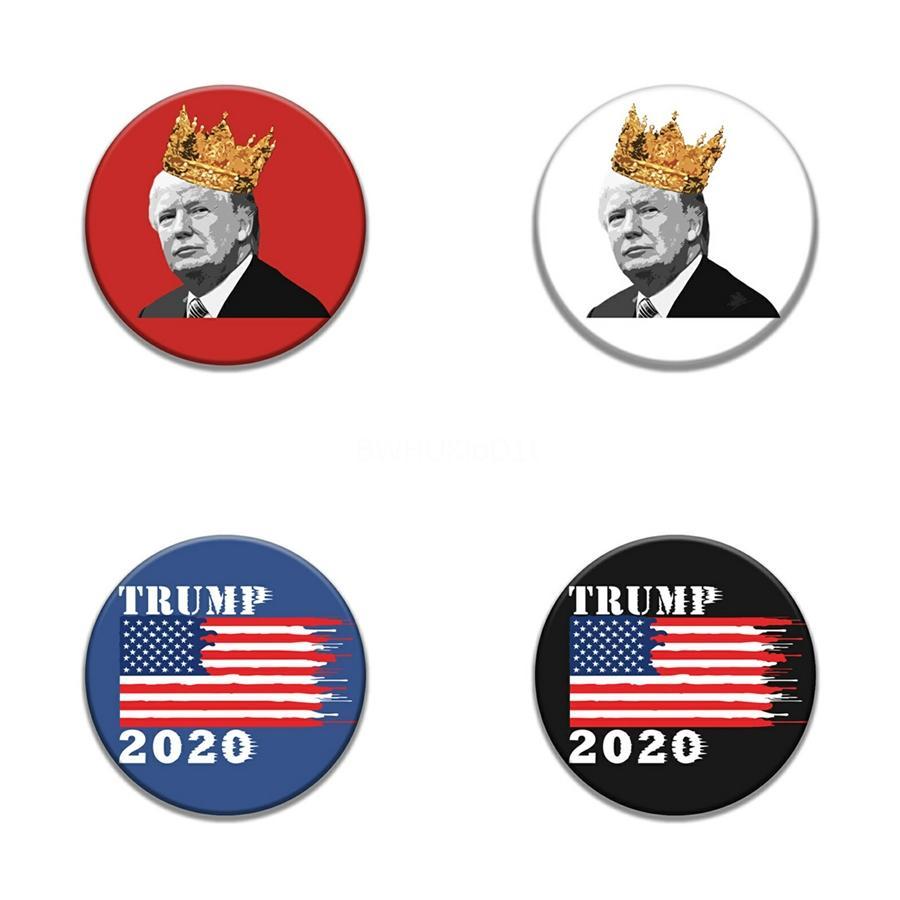 Bandera de Sarre solapa del indicador de Trump Pin Badge pernos de la solapa Trump insignias broche Xy0171 # 692