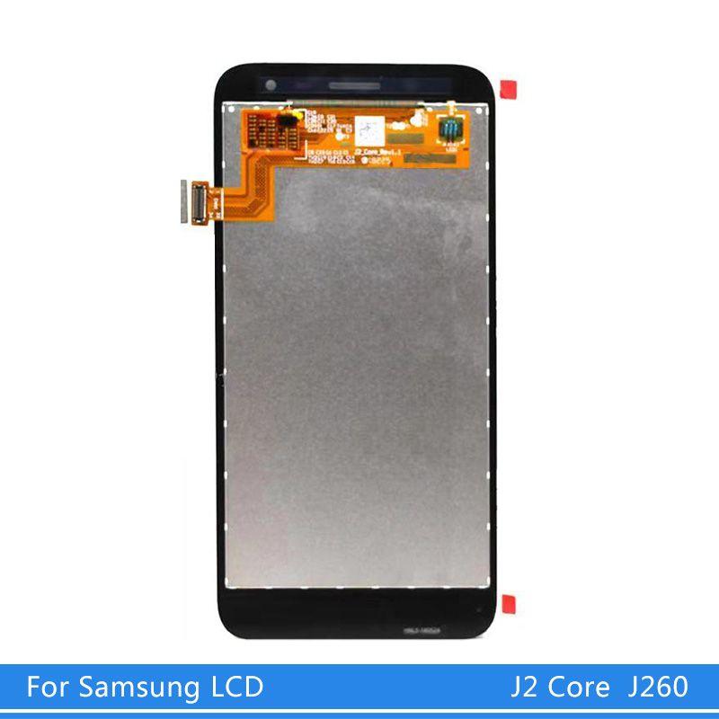 100% испытало для Samsung Galaxy J2 Основные J260 ЖК-дисплей с сенсорным экраном Замена Digitizer Ассамблеи для Samsung J260 LCD